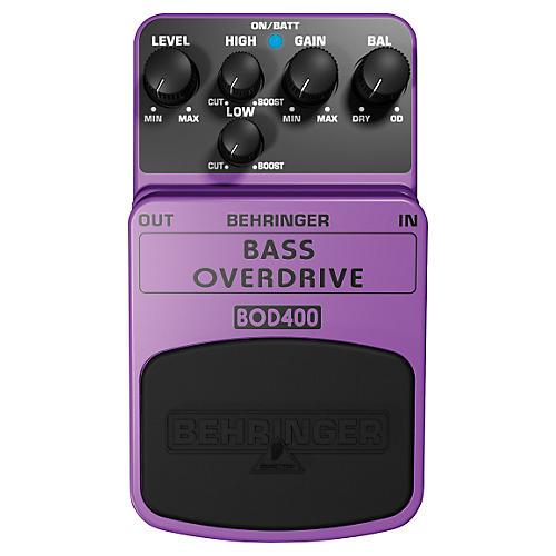 Behringer Bass Overdrive BOD400 Bass Effects Pedal-thumbnail