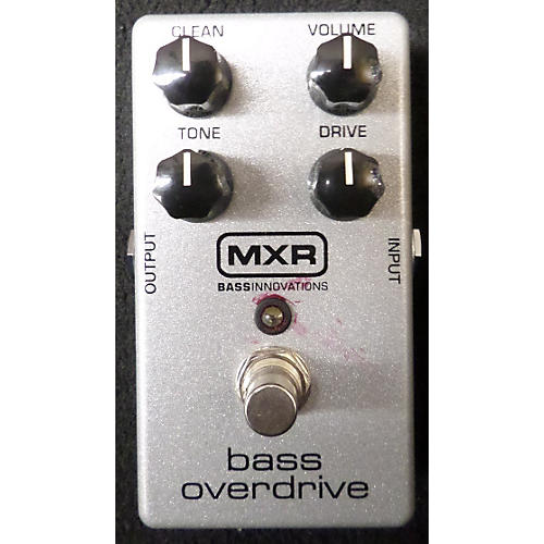 MXR Bass Overdrive Bass Effect Pedal-thumbnail