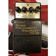 Boss Bass Parametric Equalizer Bass Effect Pedal
