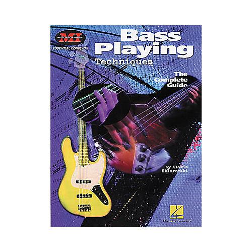 Hal Leonard Bass Playing Techniques Book-thumbnail