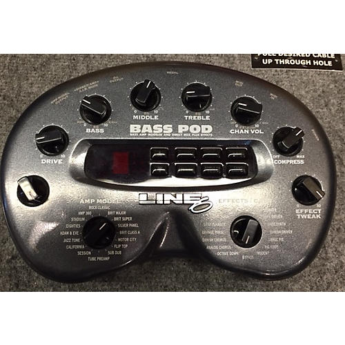 Line 6 Bass Pod Effect Processor-thumbnail