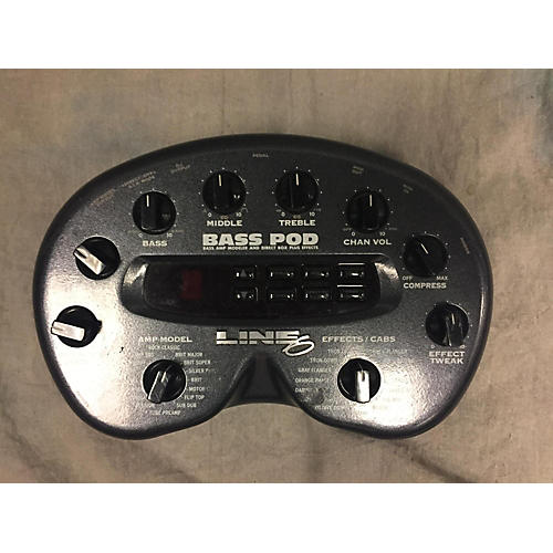 Line 6 Bass Pod Effect Processor