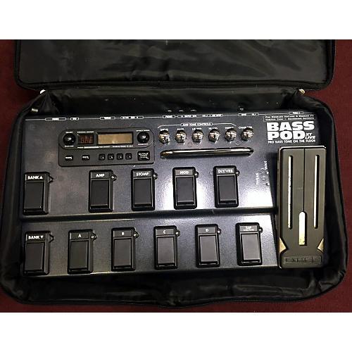 Line 6 Bass Pod XT Live Bass Effect Pedal-thumbnail
