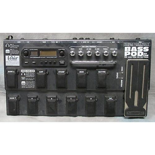 Line 6 Bass Pod XT Live Bass Effect Pedal