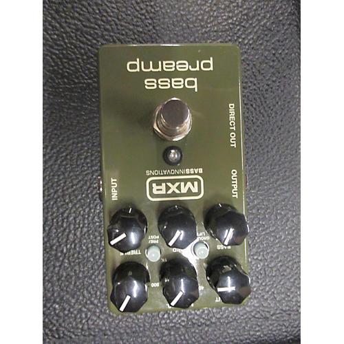 MXR Bass Preamp Bass Effect Pedal-thumbnail