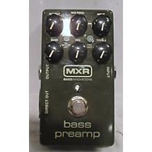 MXR Bass Preamp Pedal