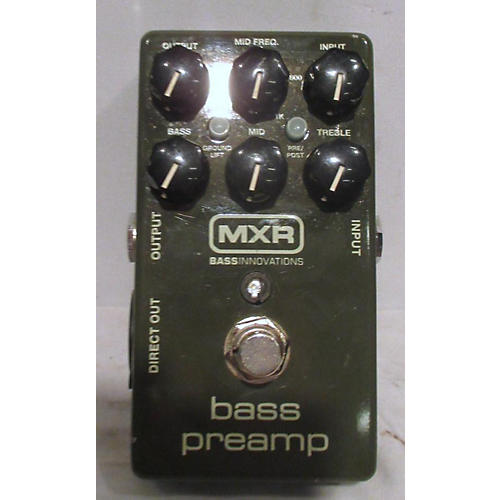 used mxr bass preamp pedal guitar center. Black Bedroom Furniture Sets. Home Design Ideas