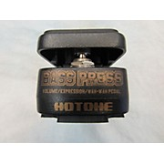 Hotone Effects Bass Press Bass Effect Pedal