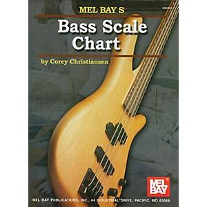 Mel Bay Bass Scale Chart by Mel Bay