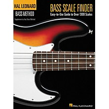 Hal Leonard Bass Scale Finder Book