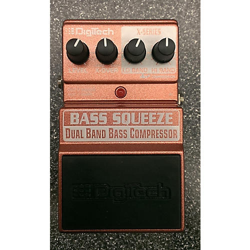 Digitech Bass Squeez DBBC Bass Effect Pedal