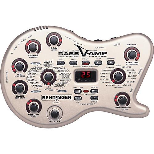 Behringer Bass V-AMP Modeling Preamp