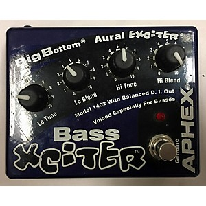 Pre-owned Aphex Bass Xciter Bass Effect Pedal by Aphex