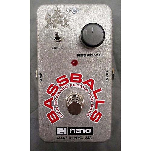 Electro-Harmonix Bassballs Nano Envelope Filter Bass Effect Pedal-thumbnail