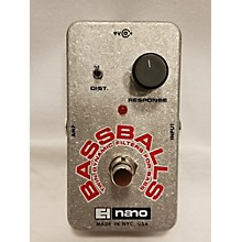Electro-Harmonix Bassballs Nano Envelope Filter Bass Effect Pedal