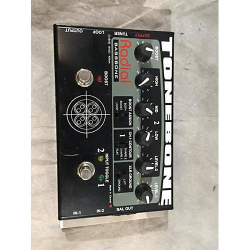 Radial Engineering Bassbone Bass Pre DI Bass Effect Pedal-thumbnail