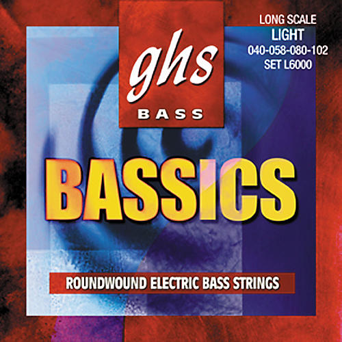 GHS Bassics Bass Strings