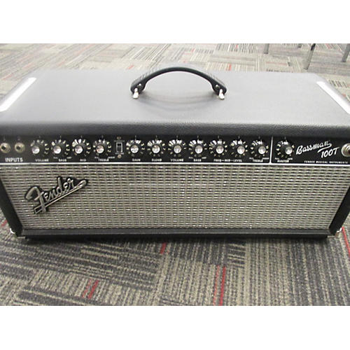 Fender Bassman 100T 100W Tube Bass Amp Head-thumbnail