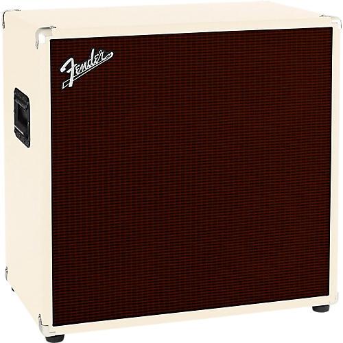 Fender Bassman 410 4x10 Bass Cabinet Blonde/Oxblood