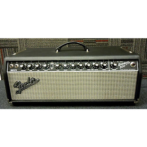 used fender bassman 500w bass amp head guitar center. Black Bedroom Furniture Sets. Home Design Ideas