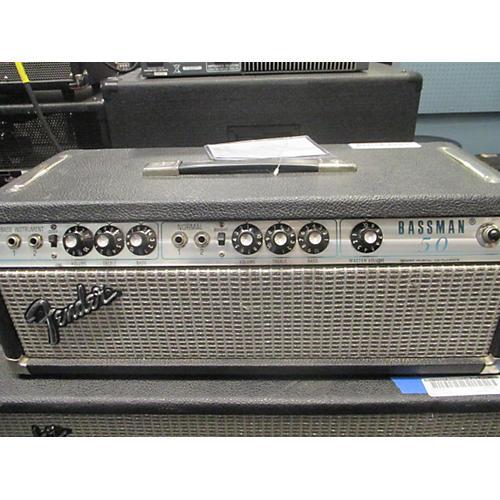 Fender Bassman 50W Head Tube Bass Amp Head-thumbnail