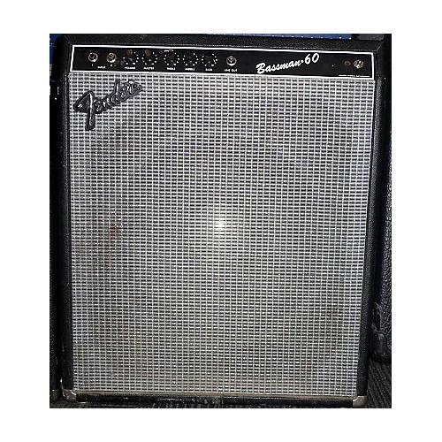 used fender bassman 60 bass combo amp guitar center. Black Bedroom Furniture Sets. Home Design Ideas