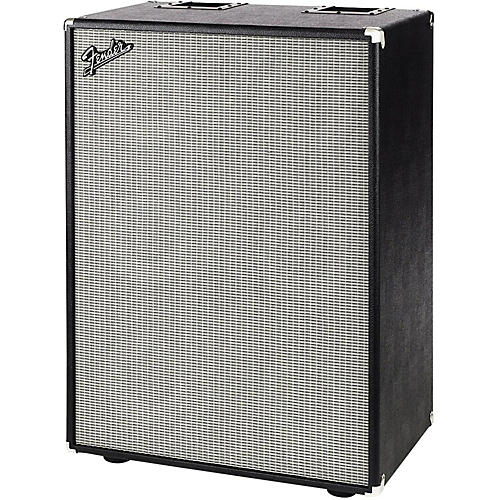 Fender Bassman 610 Pro 1,600W 6x10 Bass Speaker Cabinet Black