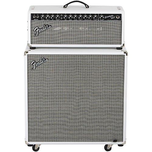 Fender Bassman Pro 100T 100W Tube Bass Head and 4x10 Neo Bass Cab-thumbnail