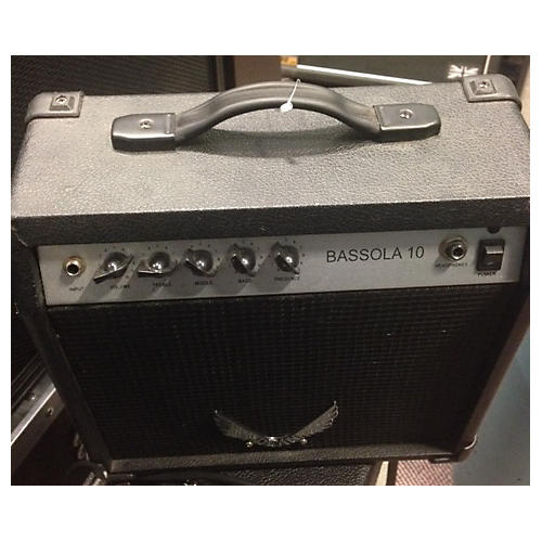 Dean Bassola 10 Bass Combo Amp Black and Silver