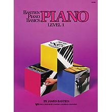 KJOS Bastien Piano Basics: Piano Level 1