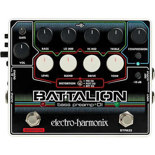 electro harmonix battalion bass preamp and di pedal guitar center. Black Bedroom Furniture Sets. Home Design Ideas