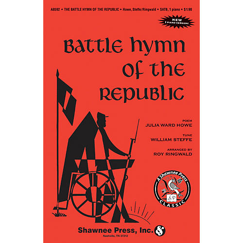 Shawnee Press Battle Hymn of the Republic TTBB Arranged by Roy Ringwald