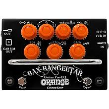 Orange Amplifiers Bax Bangeetar Pre-EQ Guitar Effects Pedal Level 1 Black