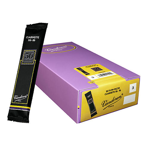 Vandoren Bb Clarinet 56 Rue Lepic Reed Box of 50