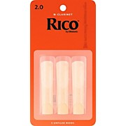 Rico Bb Clarinet Reeds, Box of 3