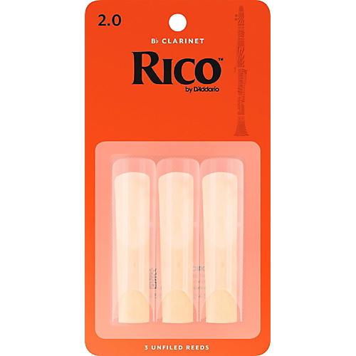 Rico Bb Clarinet Reeds, Box of 3-thumbnail