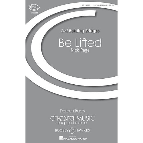 Boosey and Hawkes Be Lifted (CME Building Bridges) SATB composed by Nick Page