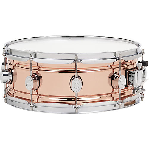 PDP Beaded Copper Snare Drum
