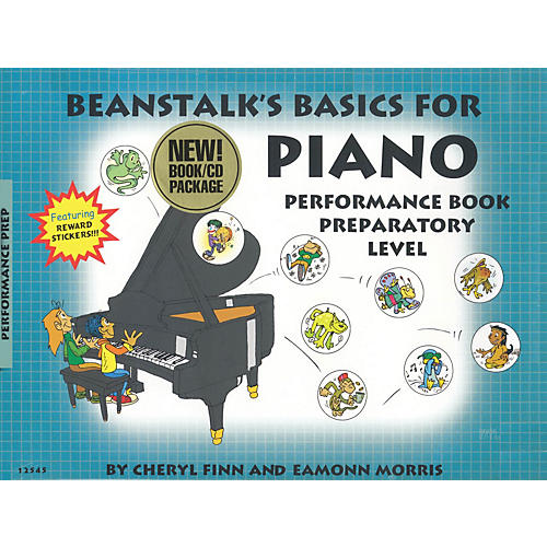 Willis Music Beanstalk's Basics for Piano - Performance Books Willis Series Softcover with CD Written by Cheryl Finn