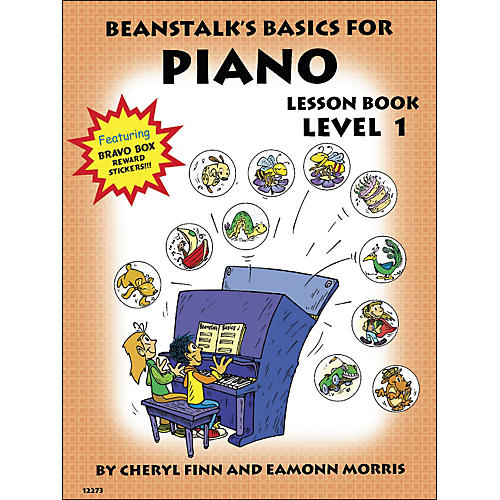 Willis Music Beanstalk's Basics for Piano Lesson Book Level 1