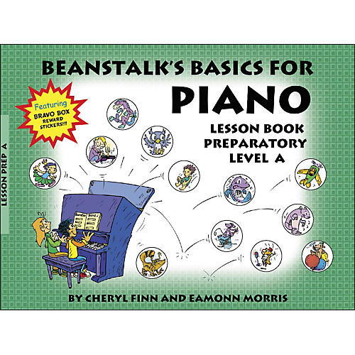 Willis Music Beanstalk's Basics for Piano Lesson Book Preparatory Level A