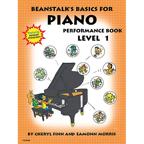 Willis Music Beanstalk's Basics for Piano (Performance Book Book 1) Willis Series Written by Cheryl Finn