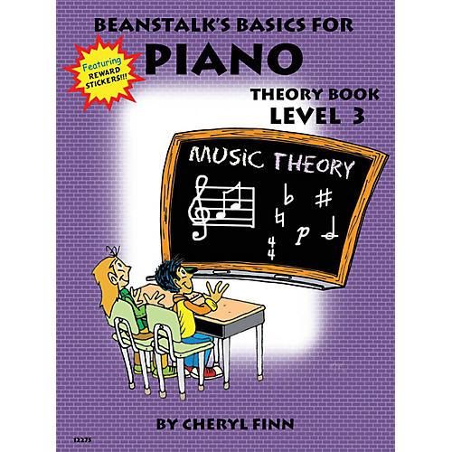 Willis Music Beanstalk's Basics for Piano (Theory Book Book 3) Willis Series Written by Cheryl Finn