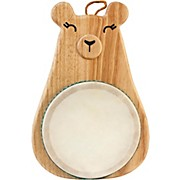Green Tones Bear Drum