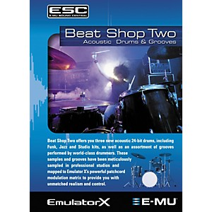 E-mu Beat Shop Two Sample CD-ROM by E mu