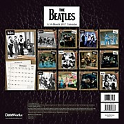 Browntrout Publishing Beatles 2017 12x12 Trends Calendar