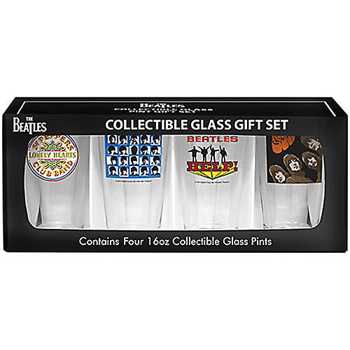 Boelter Brands Beatles Albums Pint Set (4 Pack)-thumbnail