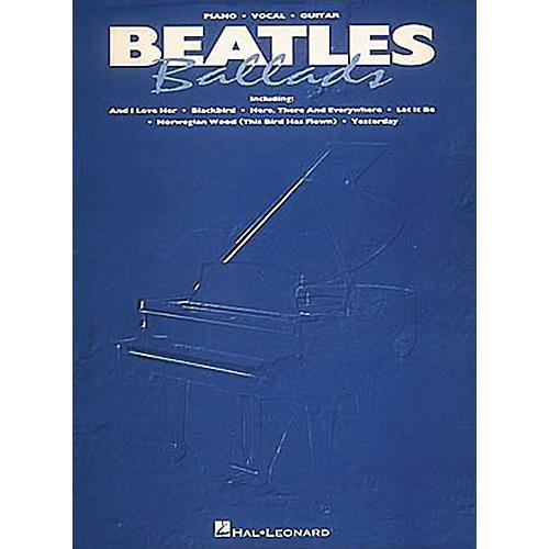 Hal Leonard Beatles Ballads Piano, Vocal, Guitar Songbook-thumbnail
