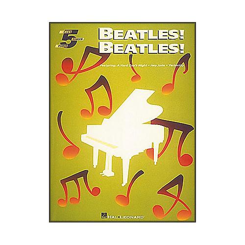 Hal Leonard Beatles Beatles for Five Finger Piano-thumbnail