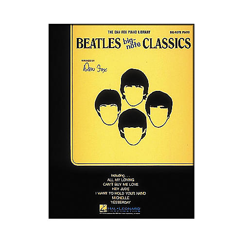Hal Leonard Beatles Classics for Big Note Piano-thumbnail